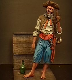 Pirate. Medieval Forge Miniatures