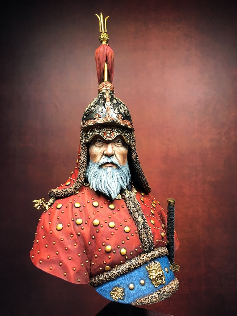 How Much Is A Paint Job >> Yi Sun-Sin by Greg German · Putty&Paint