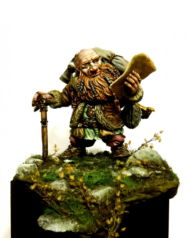 Dwarf treasure  hunter
