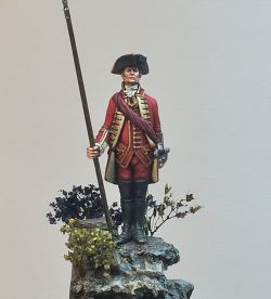Officer 51st of foot KOLYI 1759
