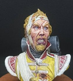 Buste 1/10 Full oils paints used