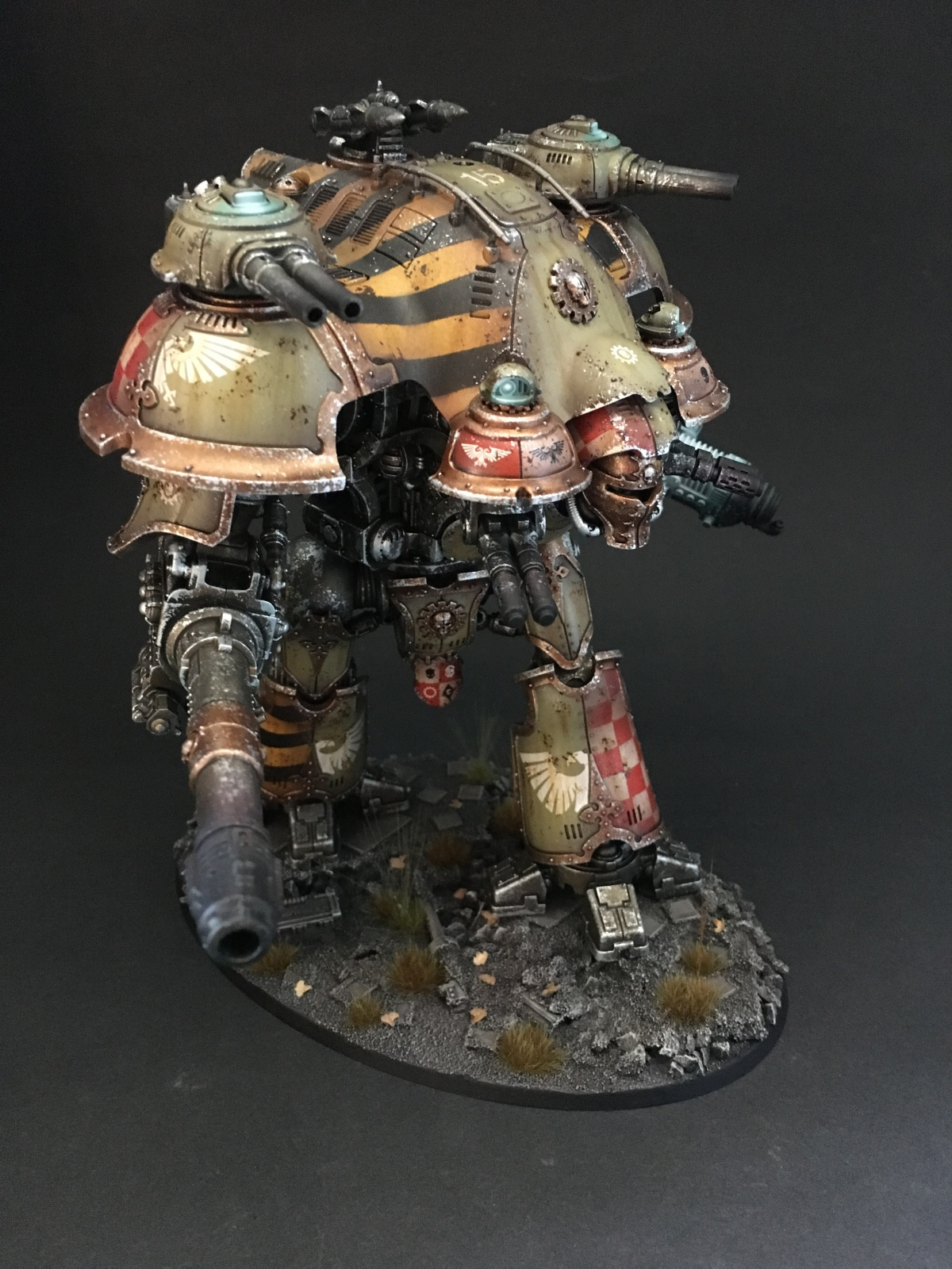 Castellan Imperial Knight By Thomas Coltau 183 Putty Amp Paint