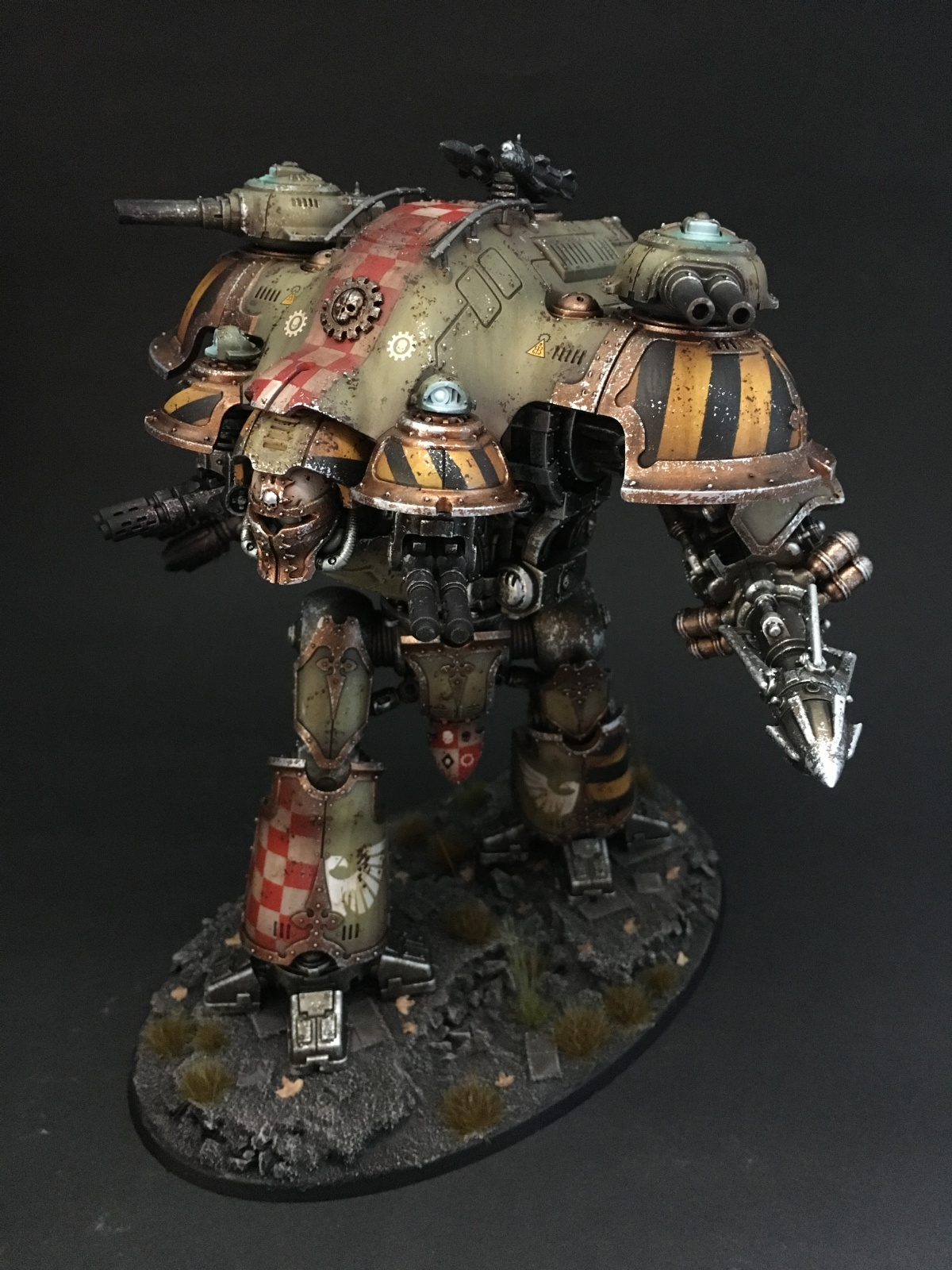 Valiant Imperial Knight By Thomas Coltau 183 Putty Amp Paint