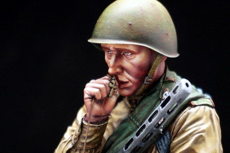 Young Red Army Infantryman, Battle of Kursk