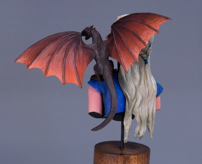 Daenerys Targaryen Mother of Dragons from Nuts Planet
