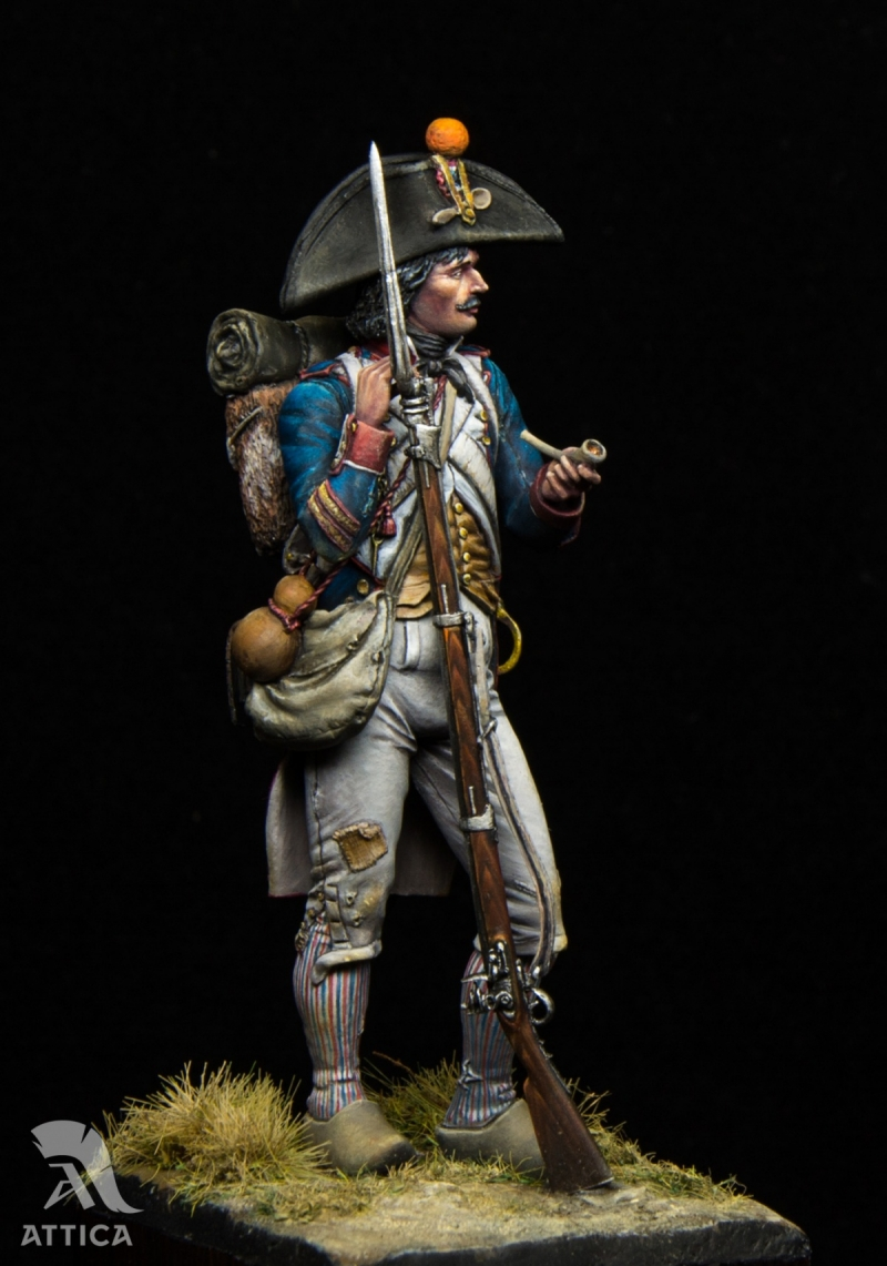 Napoleonic French Revolutionary Soldier 1796