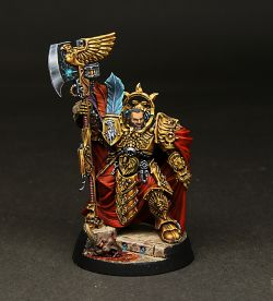 Trajann Valoris of the Adeptus Custodes