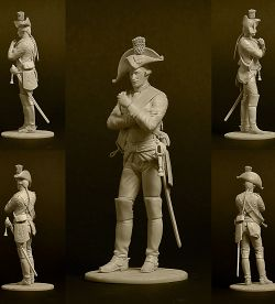 Old Fritz's Army. Cuirassier regiment K-2.