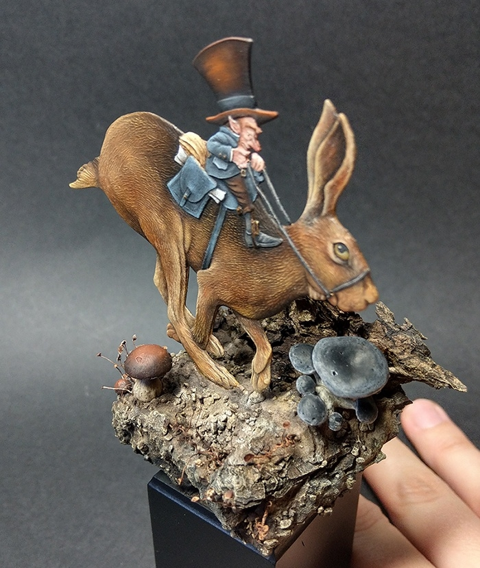 Archer and his hare