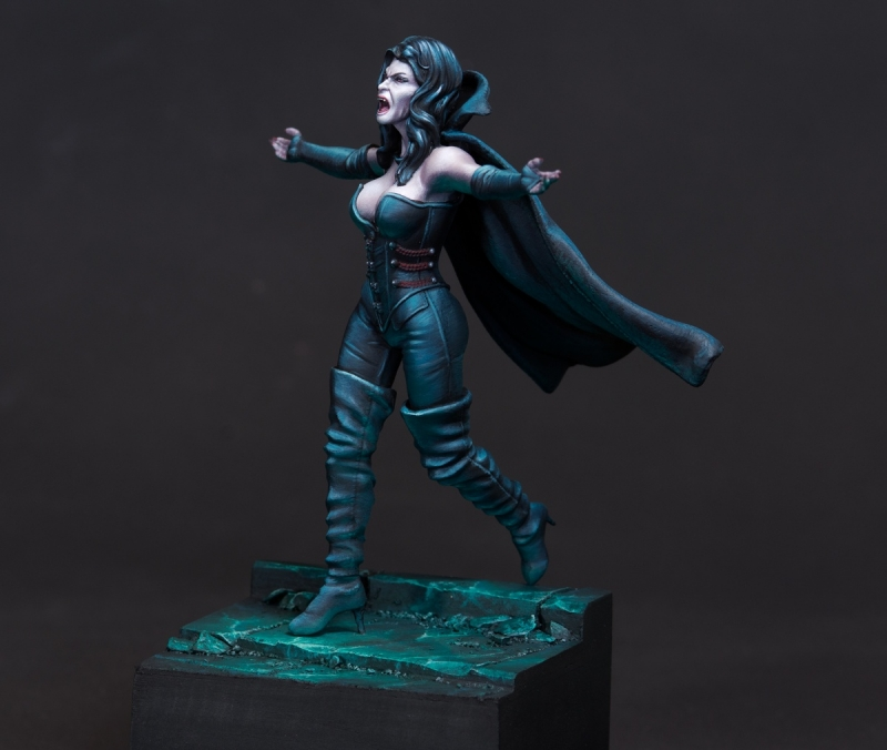 Vampire Queen Charlotte Boxart for Eclipse Miniatures