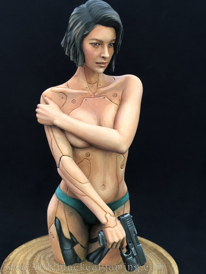 Little Black Cat Gaming's Mirai Bust by Life Miniatures