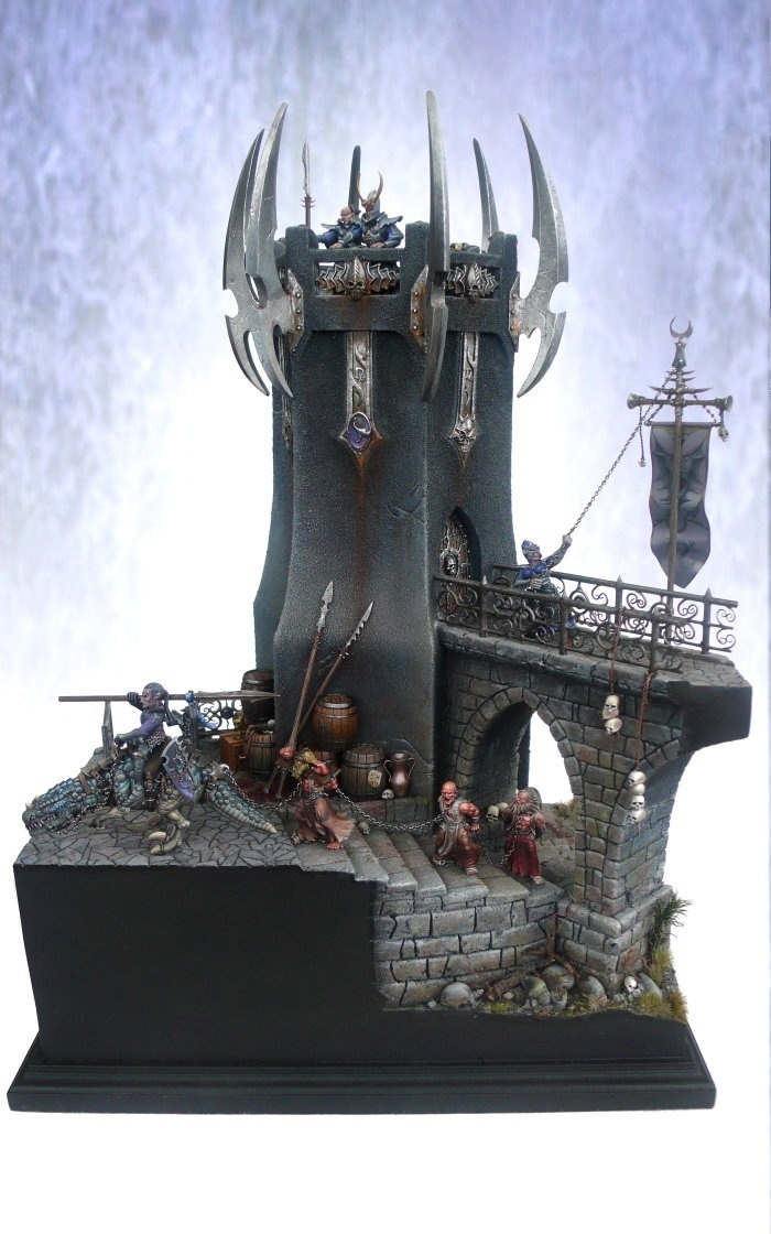 Dark elves tower