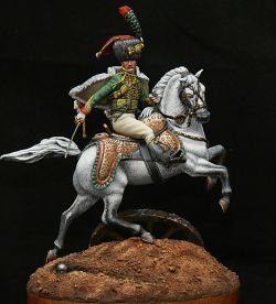 Horse Chasseurs of the Imperial Guard
