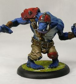 Ugg the Troll Bloodbowl player