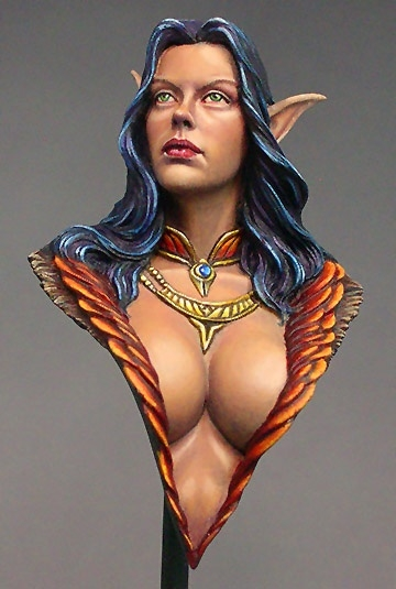 Evelyn Bust from Nuts Planet
