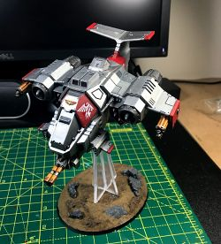 Grey Knight Stormhawk Interceptor