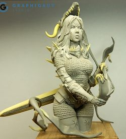 Mina, Dragon Hunter (1/9 large bust)