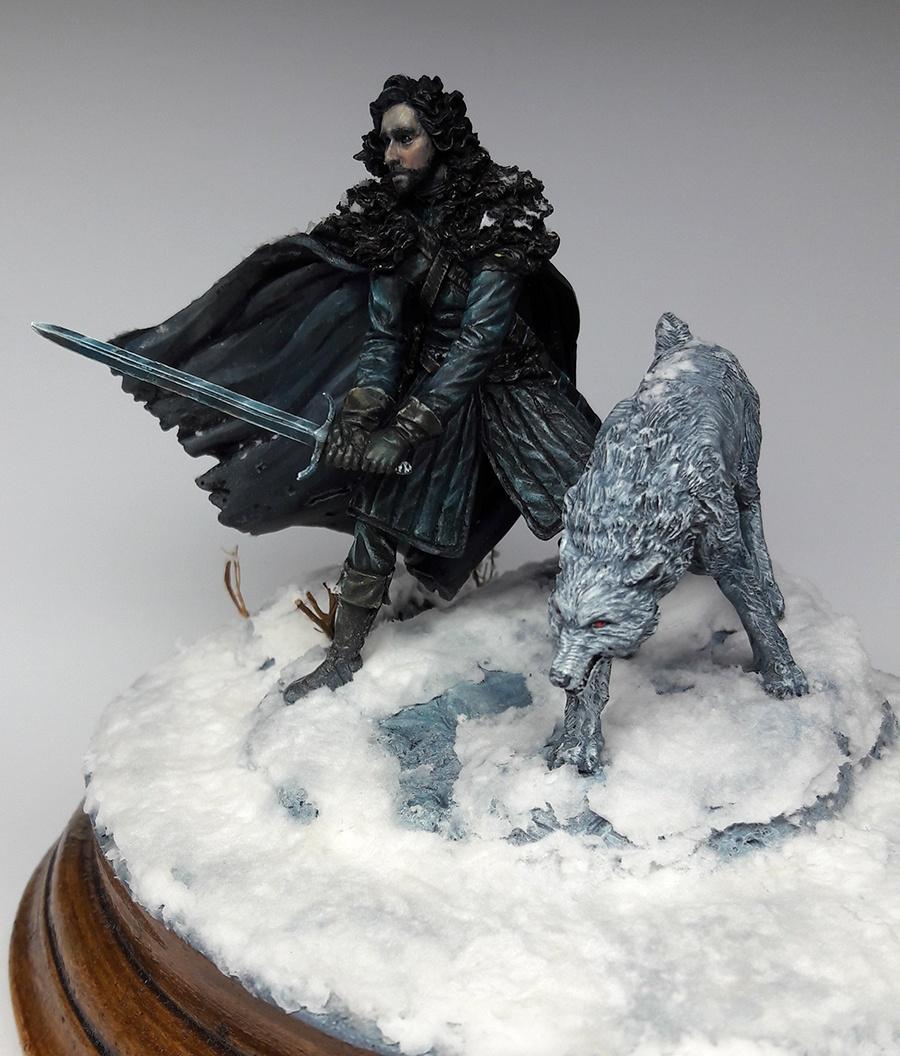 winter knight winter is coming by branislav. Black Bedroom Furniture Sets. Home Design Ideas