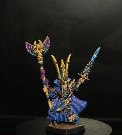 Teclis High elves mage Warhammer fantasy