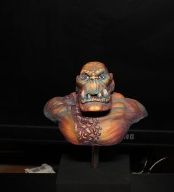 Ork bust from Cold one workshop/