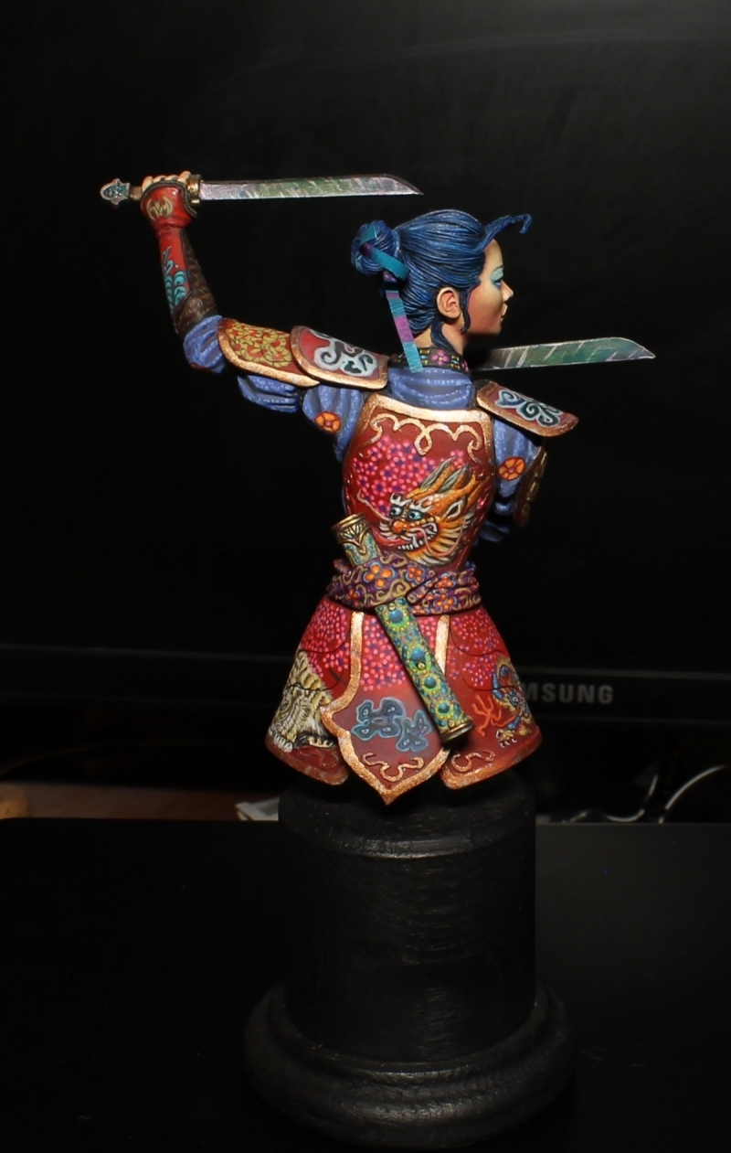 Daughter of the Dragon Bust from Altores Studio