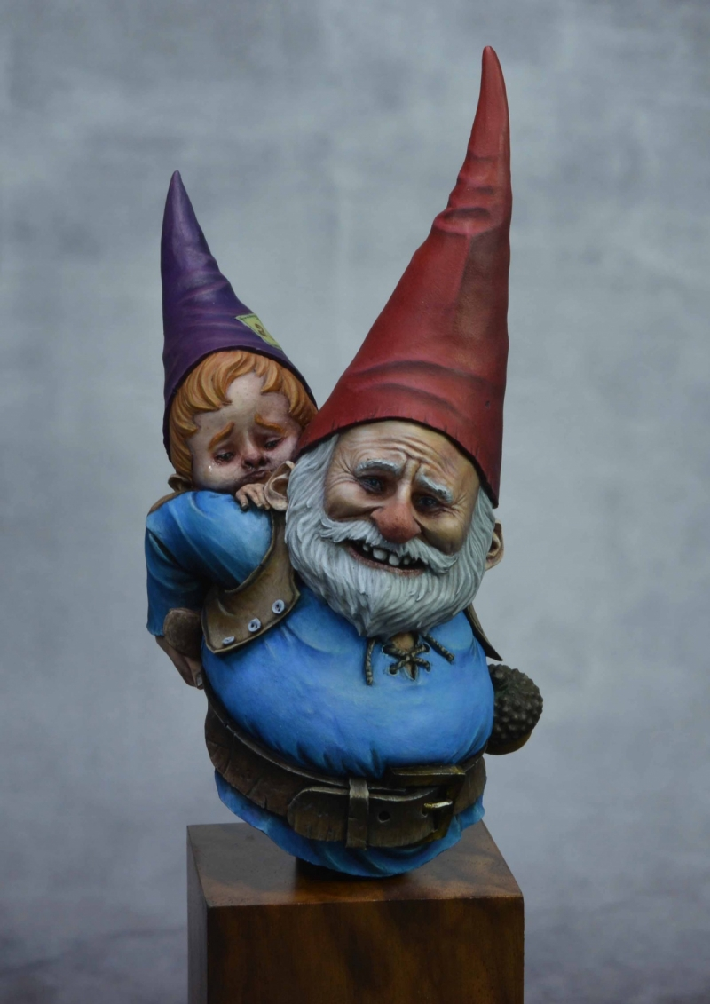 "Gnomes ... ""I don't want to go to school…"""