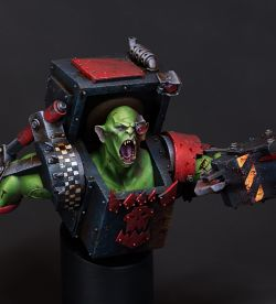 Megaboss'ish Conversion using Hera Models Academic Orc