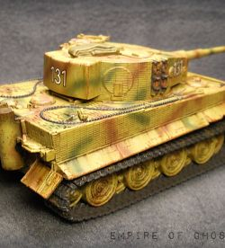 1/56 scale Hungarian Tiger IE