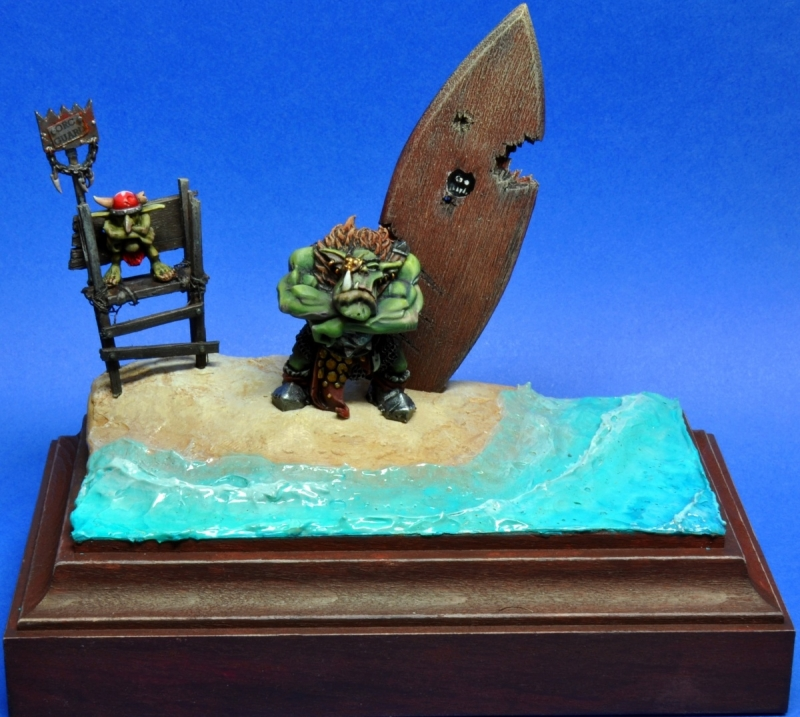 Orc Guard and Surfer