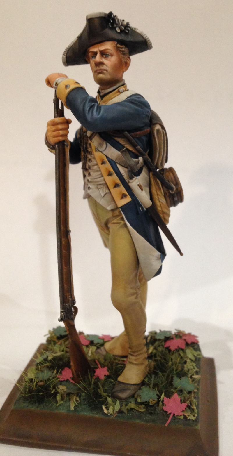 Private, 1st New York Regiment of Continental Line