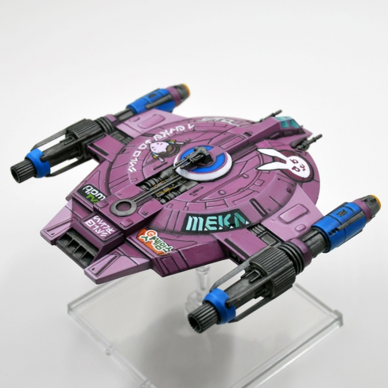 D.VA Themed Shadowcaster from X-Wing the Miniatures Game