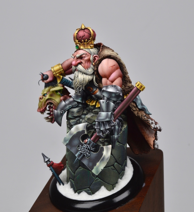 Thorgrim Ironfist, High King of Dwarves