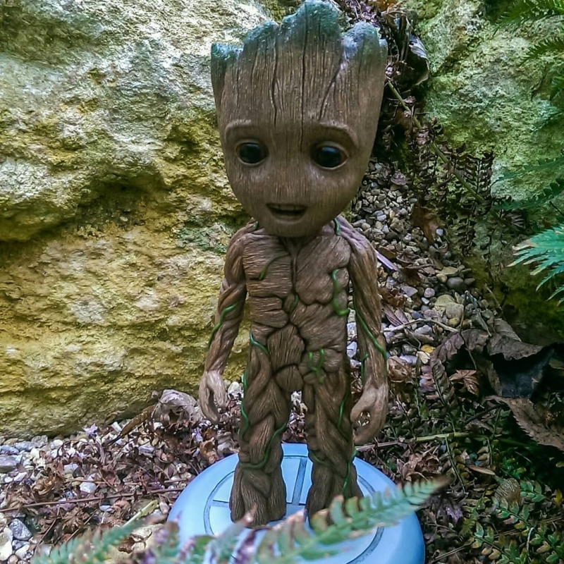 Baby groot [Sculpt and PaintJob]