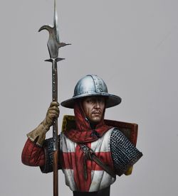 English Man-at-Arms, Crecy, 1346