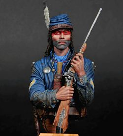 INDIAN HOME GUARD (Cherokee Warrior-Civil War)