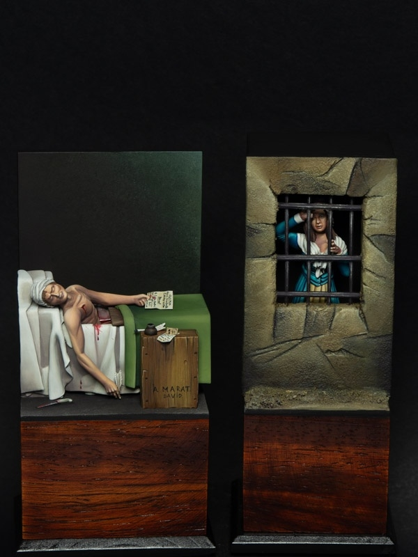 Marat and Charlotte Corday