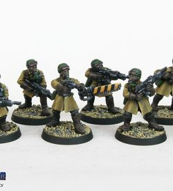 Steel Legion Infantry Squad 7