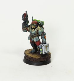 ParaMedic Tempestus Scion from GamesWorkshop