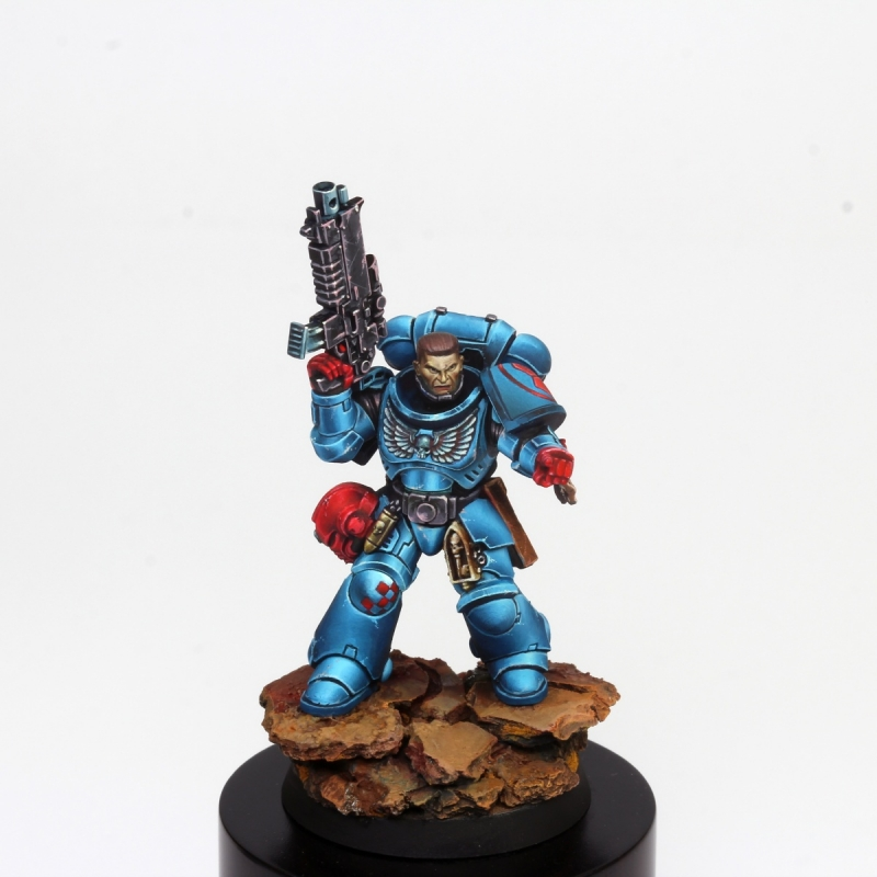 Crimson Fist Primaris Intercessor Sergeant
