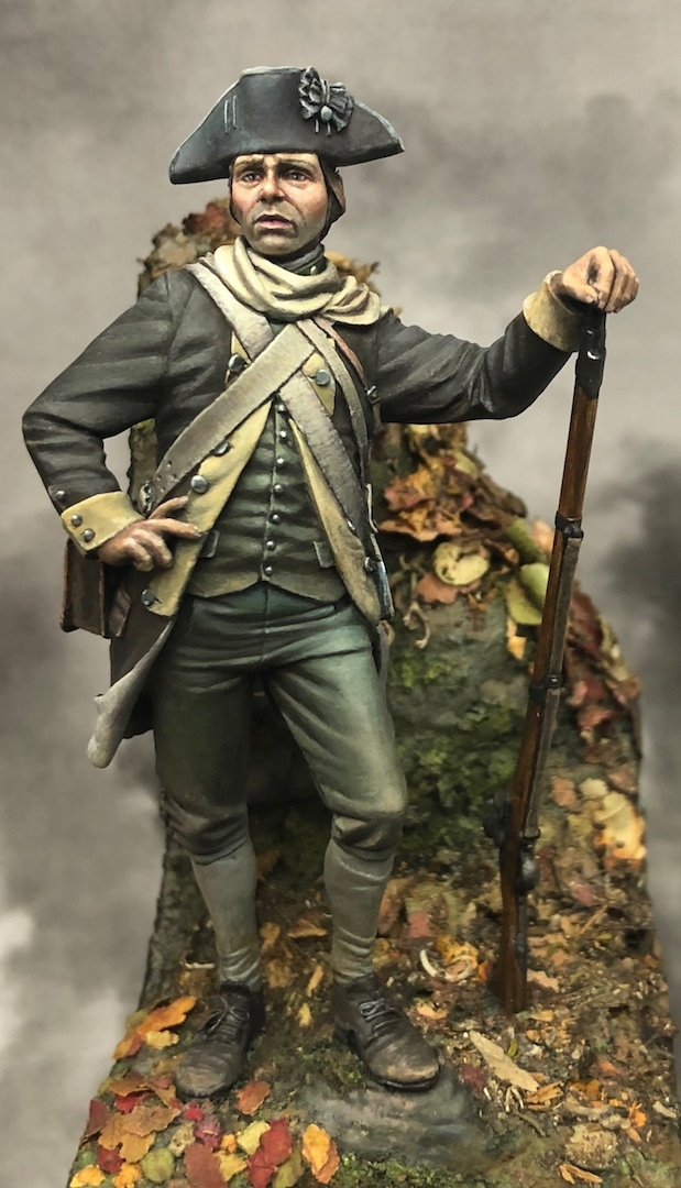 Private, Sherburne's Additional Continental Regiment 1777