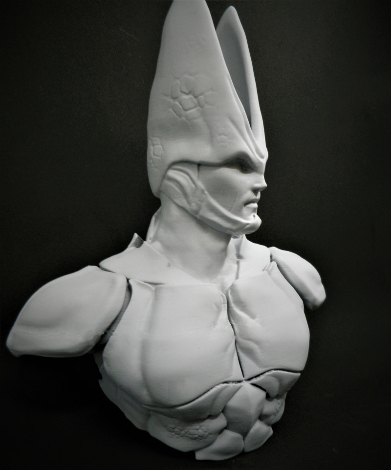 Dragon Ball Cell Bust Final Version