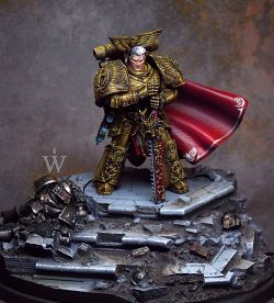 Rogal Dorn Primarch of the Imperial Fists