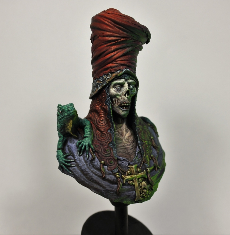 "Death Merchant Sculpted By Christoph ""Trovarion"" Eichhorn."