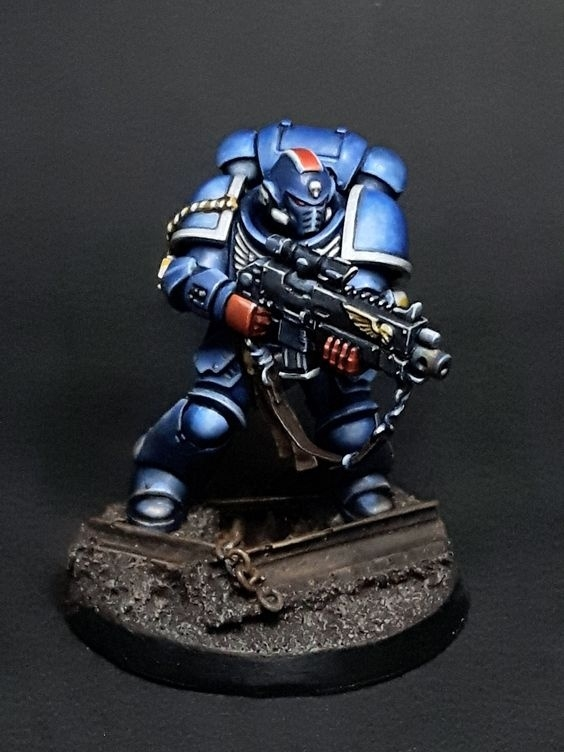30 Years of Warhammer 40,000 Primaris Intercessor Veteran Sergeant