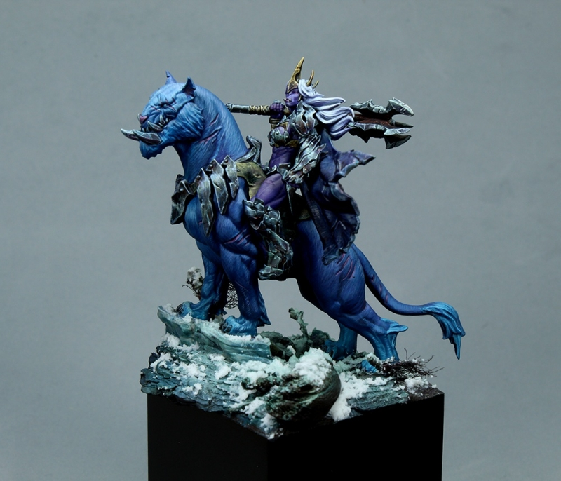 Orc Queen Mounted on Beast