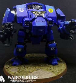 Ultramarine Primaris Redemptor Dreadnought