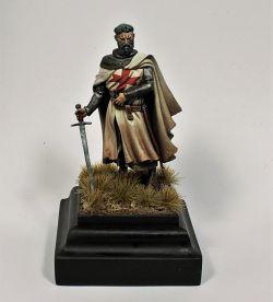Grand Master XIII c. From Andreas Miniature - Knight Templar