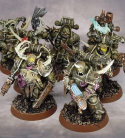Death Guard squad