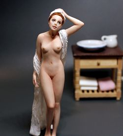 """After the Bath"" - 1:12 Scale"