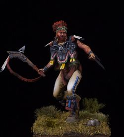 Meskwaki warrior